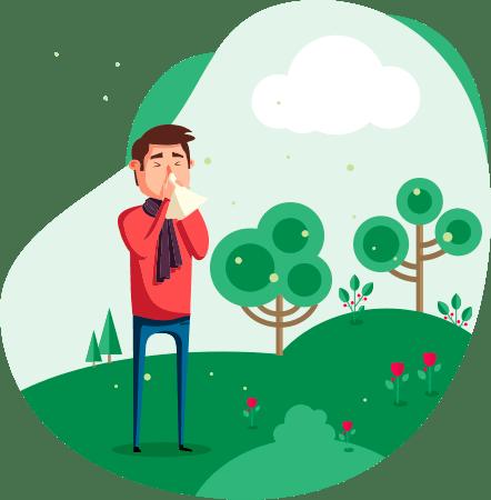 Экстренная помощь при аллергии отек