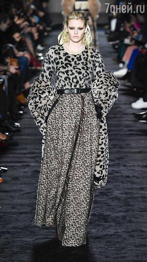 Модные принты осень-зима 2018  на что стоит обратить внимание - 7Дней.ру 6b80320f7ba