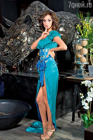Екатерина варнава в платье