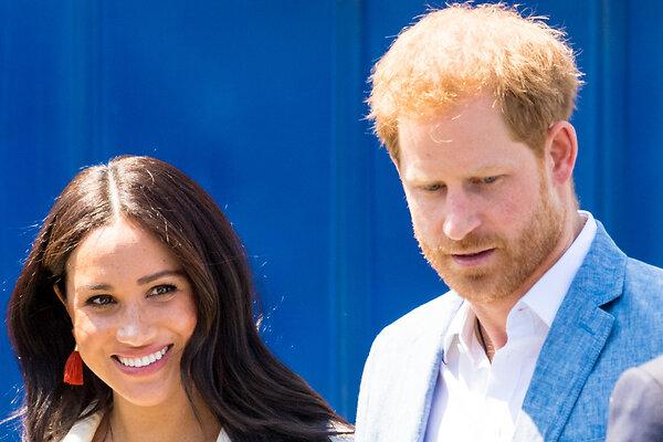 Принц Гарри оставил Меган Маркл и детей в Америке