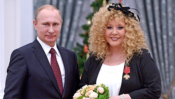 Владимир Путин вручил Алле Пугачевой государственную награду - 7Дней.ру