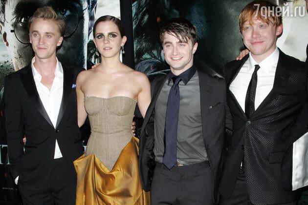 Эмма уотсон призналась что любила тома фелтона персонажи фильмов про гарри поттера