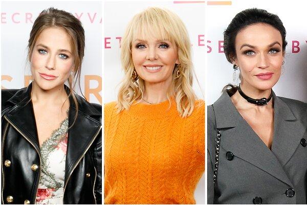 Сияющая Барановская, роковая Водонаева и другие звезды на презентации нового проекта Валерии
