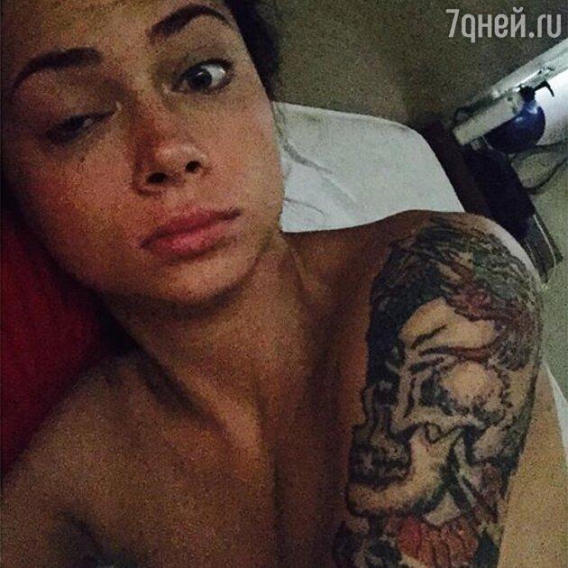 Татуировка у самбурской фото