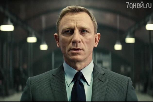 Дэниел Крейг в роли Джеймса Бонда в фильме «007: СПЕКТР» (2015 г.)
