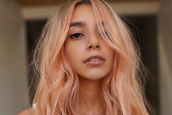 Золотой персик – модное окрашивание для блондинок, брюнеток и рыжих
