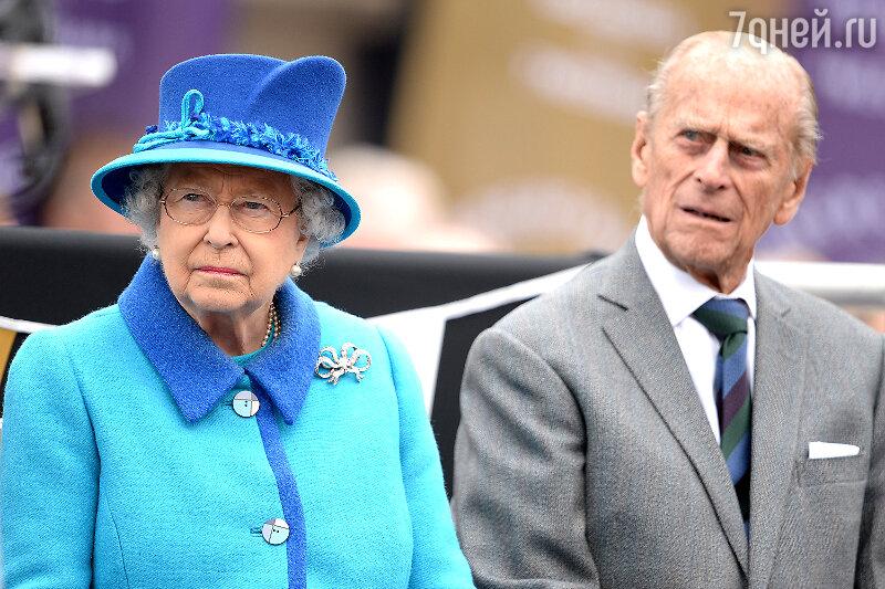 Королева Елизавета II и ее супруг принц