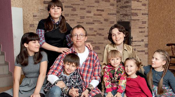 Охлобыстин с женой детьми фото