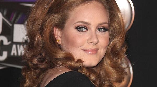Adele в журнале порно