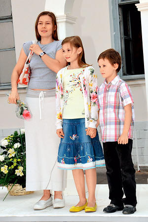 Юлия рутберг и ее муж и дети фото