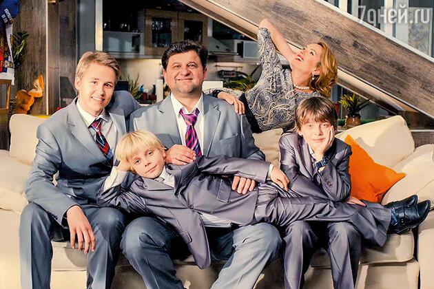 Александр самойленко семья фото дети