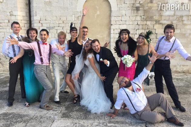 андрей гайдулян свадьба фото