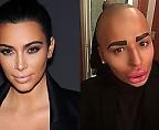 Мужчина потратил 150 тысяч долларов на сходство с Ким Кардашьян