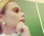Ксения Новикова прочла первую лекцию в университете