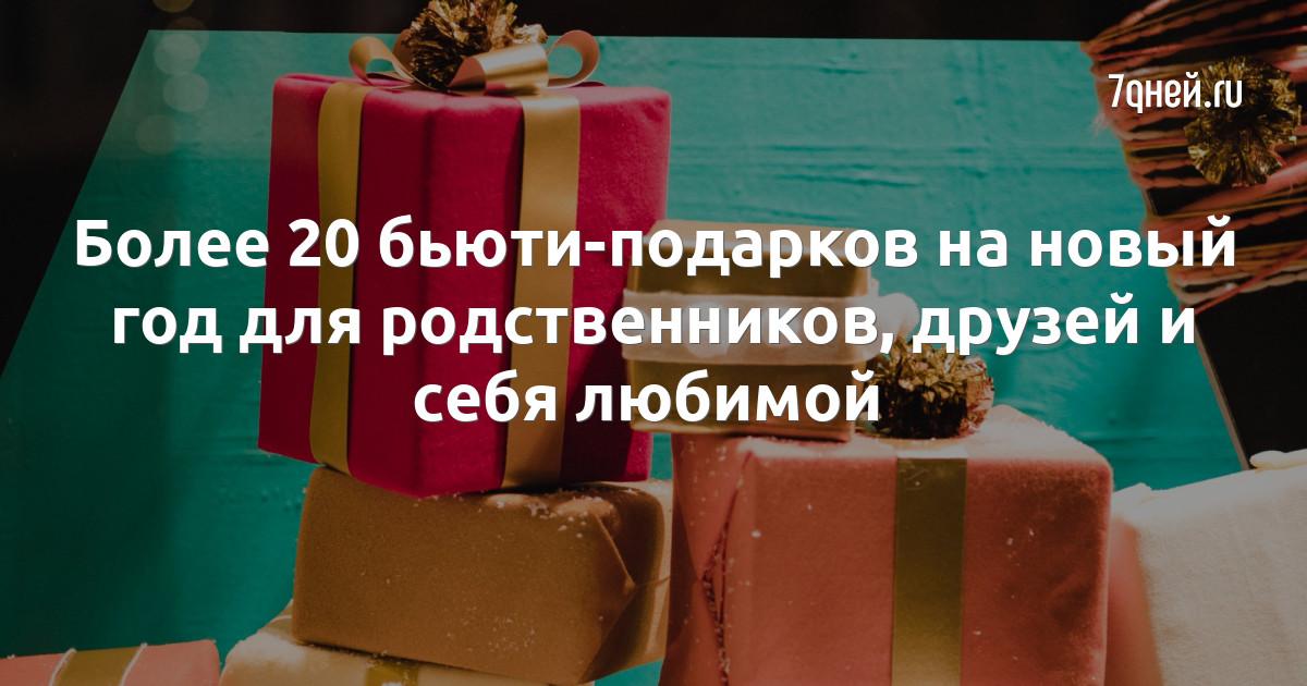 Более 20 бьюти-подарков на новый год для родственников, друзей и себя любимой
